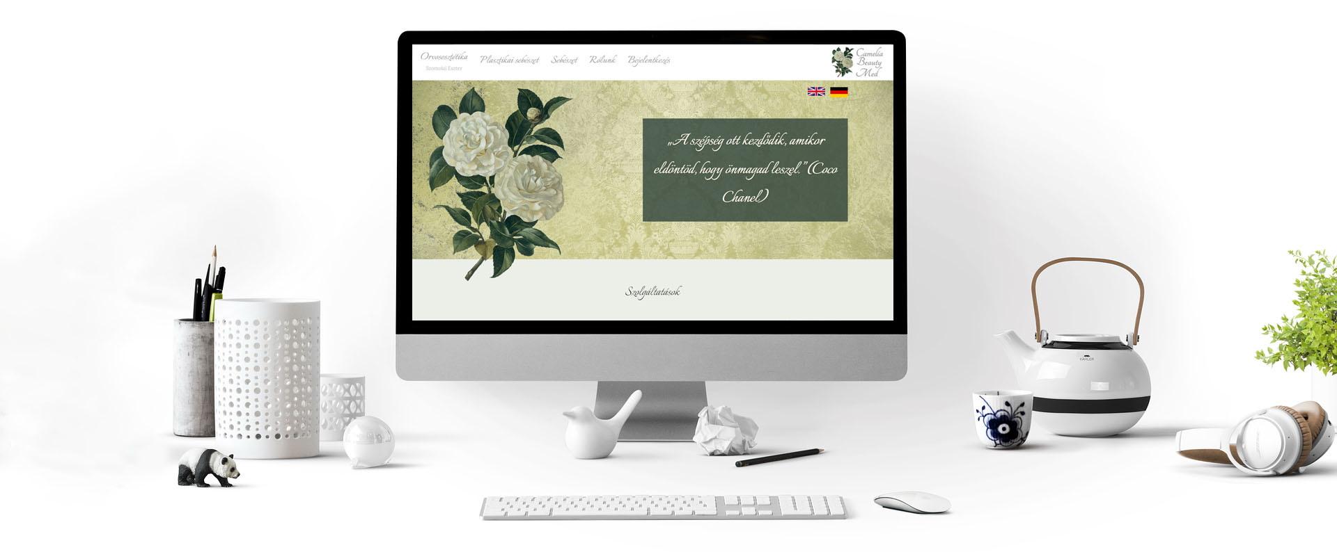 camelia_beauty_weboldal_készítés_referencia