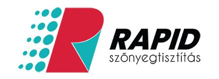 Rapid Szőnyegtisztítás logo referencia